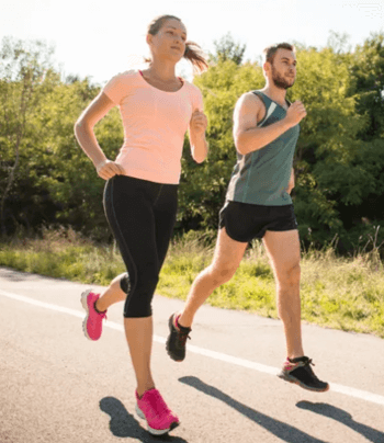 Healthy benefits of running