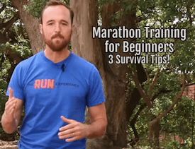Marathon Training Survival Tips